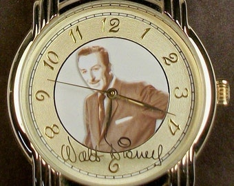 Disney Limited Edition Walt Disney Watch! Retired! HTF! Out of Production!