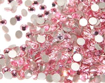 50 pcs Swarovski Crystal Flatbacks Light Rose SS16 or SS20 2058 Xilion Enhanced