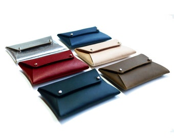 Envelope Wallet | Leather Card Wallet | Leather Wallet |  Pocket Card Wallet | Card Wallet | Minimalist Wallet | Small Wallet
