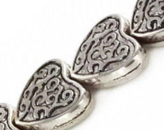 """Silver Plated Beads / Size around 20mm to 25mm /  7"""" Strand / 3 Styles Available"""