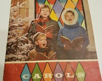 Vintage Christmas Carols Booklet 1948 Hall & McCreary Company