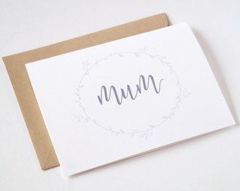 Mother's Day Card - Mum - Greeting Card