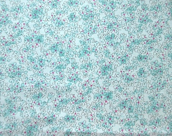 Floral Fabric - Floral Fantasy by Kings Road -  1.5 yards