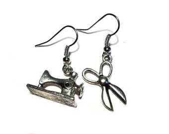 Seamstress earrings