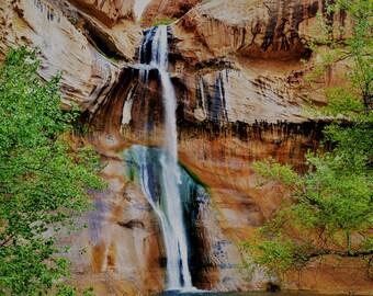 Waterfall Calf Creek Falls