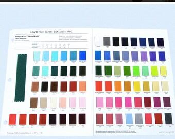 GROSGRAIN COLOR CARD - Offray Polyester Grosgrain Ribbon
