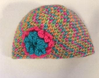 Crochet Baby hat size 6-9 months