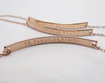 Personalized Rose Gold Bracelet Friendship Bracelet Custom Bridesmaid Gift Wedding Bacheloretter Party Gift for Women Gold Name Bracelet