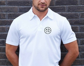 Polo t-shirt for men De Tee En Tee logo in different colors.