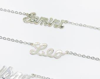 Leo Zodiac Jewelry, Leo Silver Zodiac Necklace, Personalized Zodiac Necklace, Unique Gift, Zodiac Sign Necklace, Leo Birthday Gift