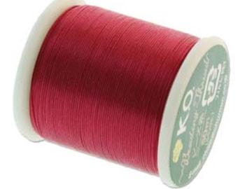 KO Thread Scarlet Pink #KO023 55 yards per spool