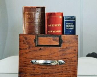 Vintage Shop Drawer, metal and wood, industrial drawer, 10 x 7.5