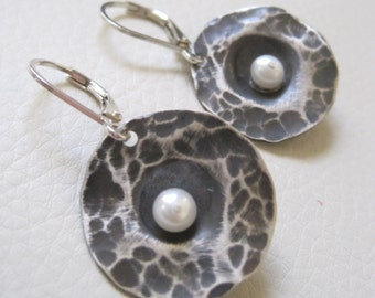 Unearthed V, Sterling Silver Earrings