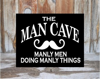 Man Cave Home Parties : When someone you love is in heaven wood home decor sign with