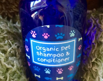 Organic Pet Shampoo & Conditioner