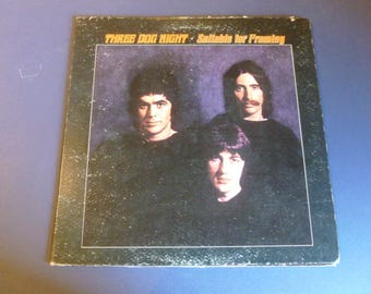 On Sale! Three Dog Night Suitable For Framing Vinyl Record LP DS 50058 Dunhill Records 1972