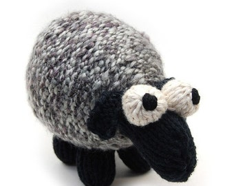 Sheepish Lamb Knit Amigurumi Plush Toy Pattern PDF Digital Download