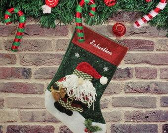 Santa Peronalised Stocking