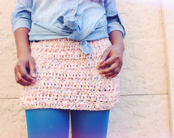 The Mountain Side Crochet Skirt Pattern. Instant Download.