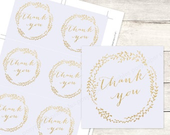 lavender gold bridal shower favor tags printable DIY wedding shower favour tags purple gold glitter thank you cards - INSTANT DOWNLOAD