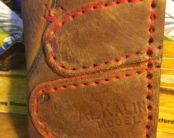 Al Kaline early model glove bi-fold money clip