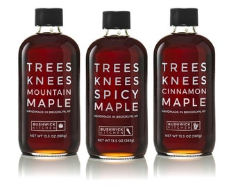 Bushwick Kitchen Trees Knees Maple Syrup Trio