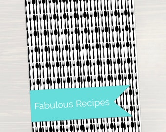 Recipe Binder Divider Pages + Tabs - Organizing Printables, Planner Pages and Planner Inserts for easy meal planning