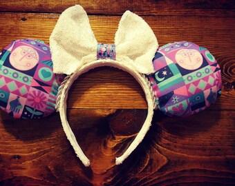 small world mickey ears