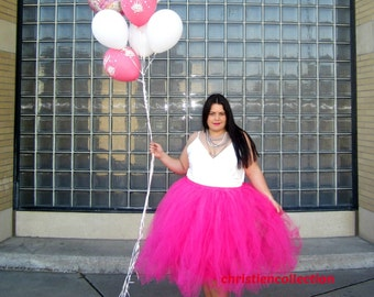 """Fully lined Sewn in Tutu skirt 30"""" long customize your size priority shipping CHOOSE YOUR COLOR"""
