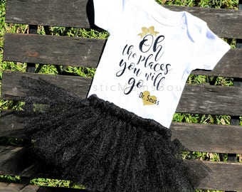 Oh the Places You Will Go (Dr. Seuss) Bodysuit