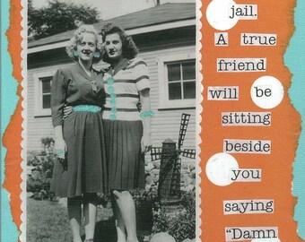 True Friend Greeting Card
