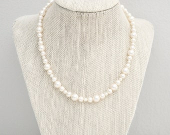 Bridal Pearl Necklace, Bridal Necklace, Pearl Wedding Necklace, Pearl Wedding Jewelry