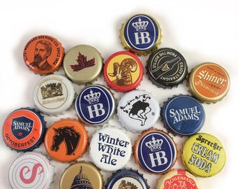 Used Beer Bottle Caps