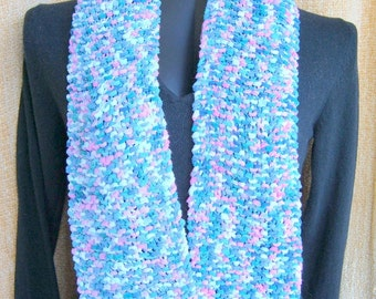 SUPER SALE - Monet - 60 inch Long Knitted Scarf - FREE SHIPPING