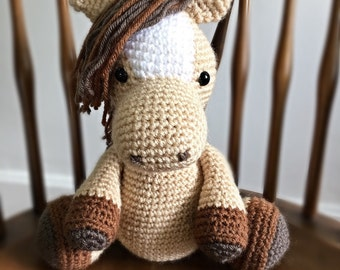Crochet Stuffed Horse Amigurumi