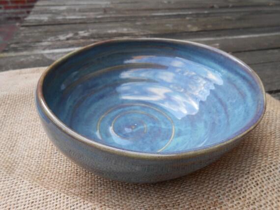 Sunrise Carved Ceramic Bowl