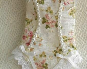 12th Scale dollhouse lingerie corset miniature