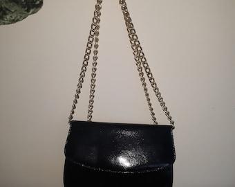 Stunning Bally Black Leather Bag