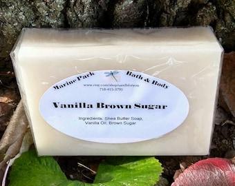 Handmade Soap - Vanilla Brown Sugar with Shea Butter