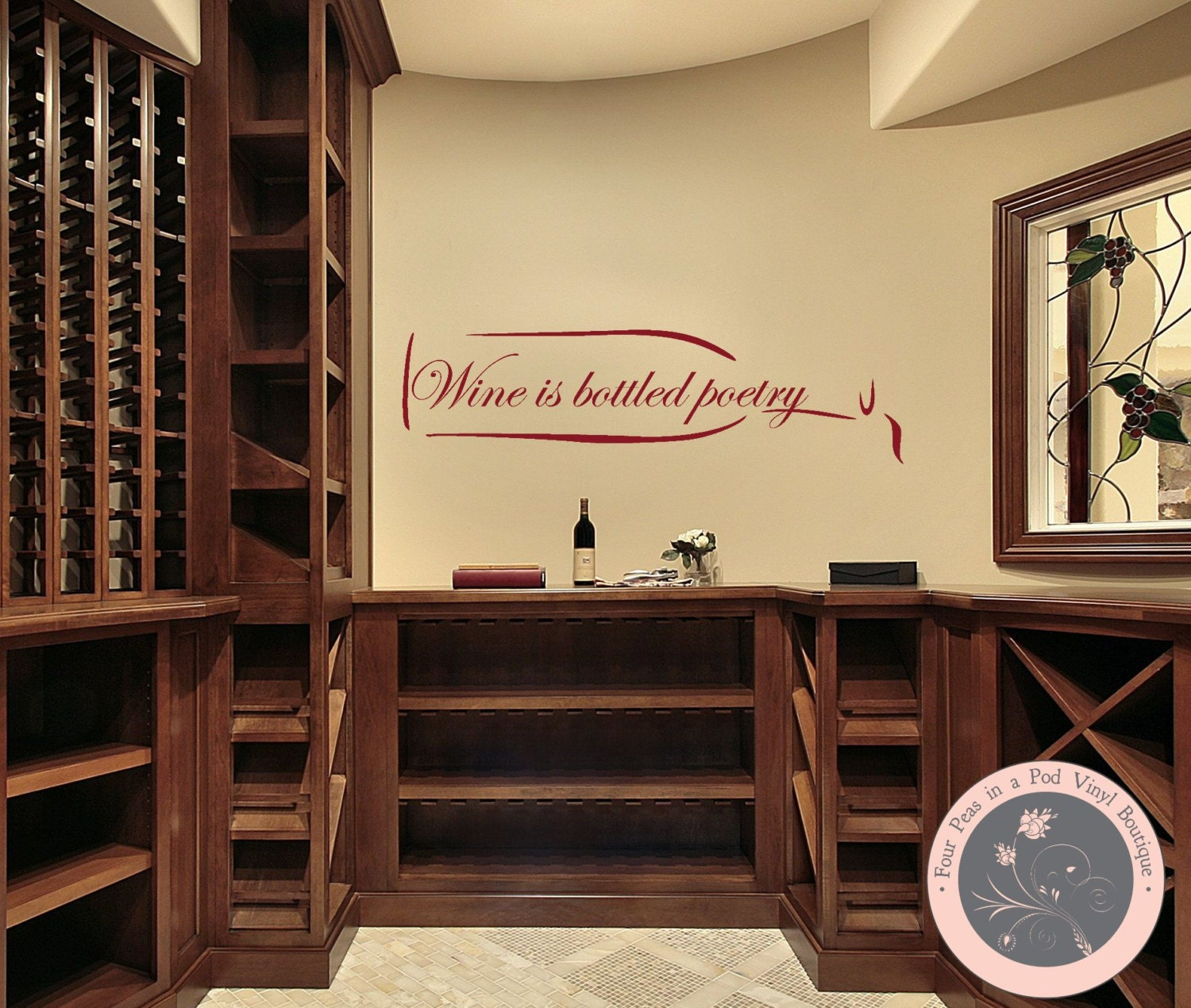Pretty Wine Cellar Wall Decor Ideas - The Wall Art Decorations ...