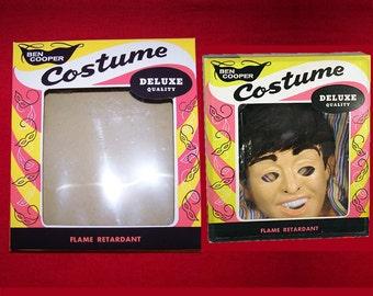 1964 Ben Cooper Beatles Halloween Costume box reproduction