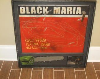 Black Maria Door Panel