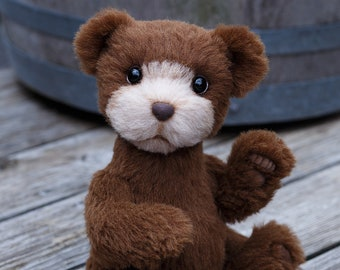 Artist collectible Teddy bear Tomas(OOAK)