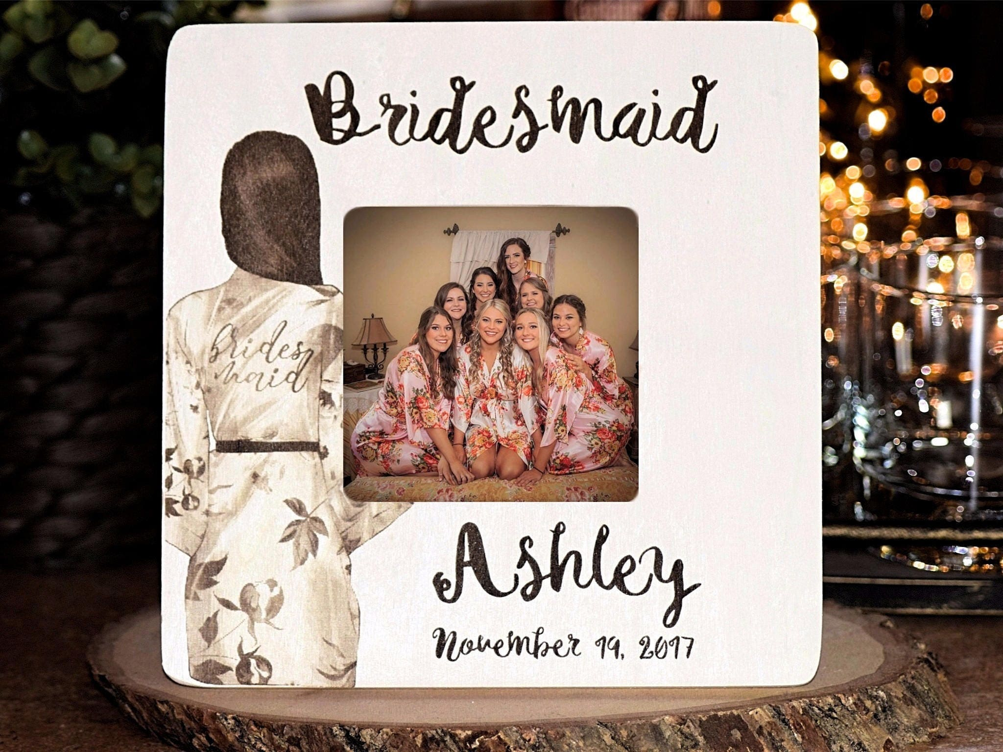 Wedding thank you gift personalized bridesmaid gift maid of request a custom order and have something made just for you jeuxipadfo Choice Image