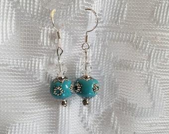 Reflecting Pool Dangle Earrings