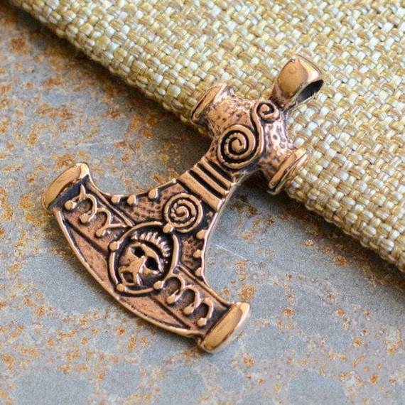 hammer of thor pendant thors hammer norse mythology danish