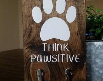 Think PAWsitive leash holder