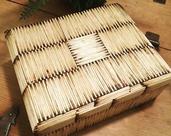 Matchstick Cigar Box