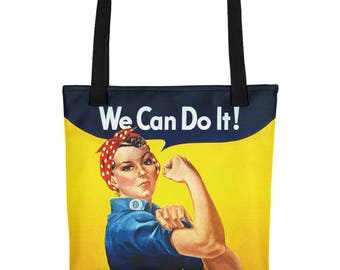 Rosie the Riveter All-Over Bag (Made in the USA)
