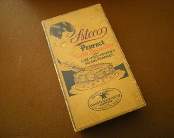 vintage cake decorator-Ateco Perfect # 701-kitchen item-kitchen ware-original box-display-ad collection-retro-
